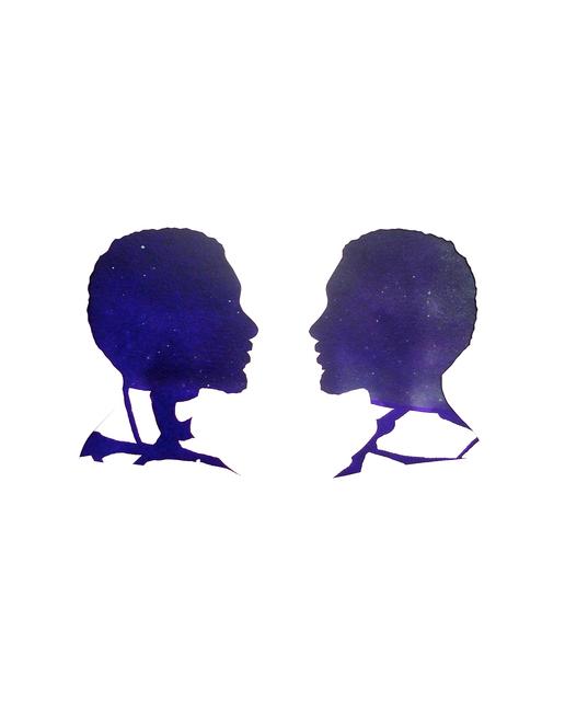 , 'Mirror Image Cobalt Violet,' 2012-2013, Tiwani Contemporary