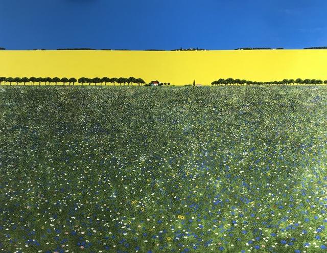 , 'Cornflower Meadow,' 2018, Ode to Art