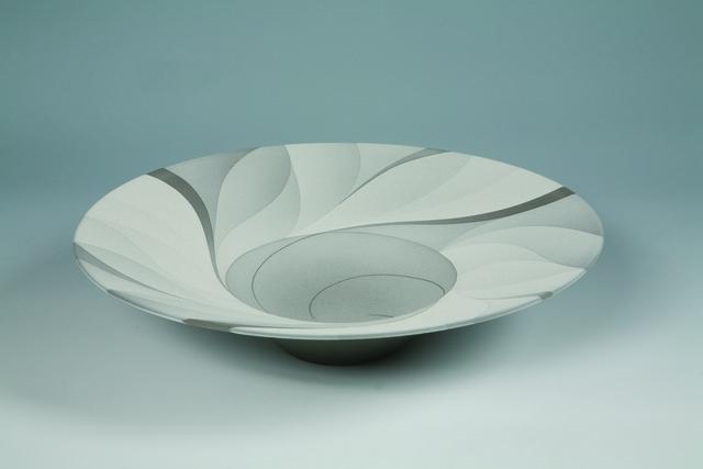 Tsuruta Yoshitaka, 'Large Bowl - Monochrome Work 31', 2013, Onishi Gallery