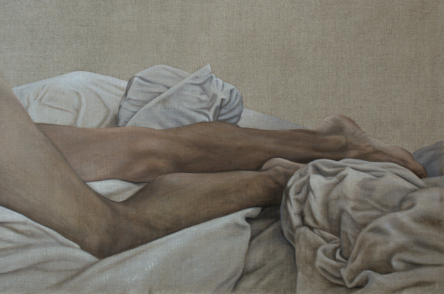Caroline Thon, 'Legs in Sheets', 2019, BBA Gallery