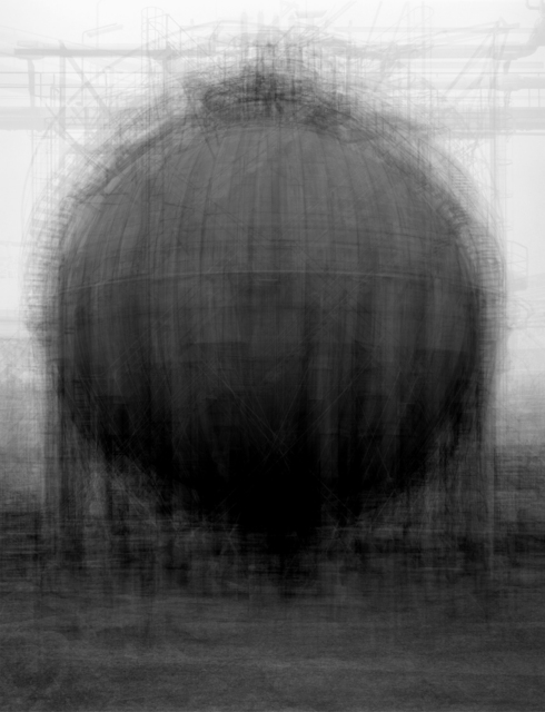 Idris Khan, 'Every... Bernd and Hilla Becher Spherical Type Gasholder', 2004, Victoria Miro