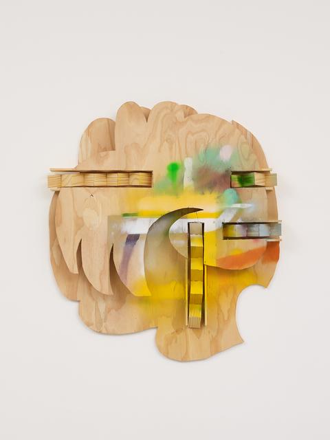 Richard Tuttle, 'Story XI', 2020, Mixed Media, Plywood, spray paint, pine, Galerie Greta Meert