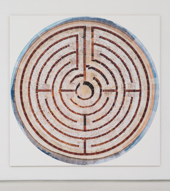 , 'In From the Wilderness (Labyrinth in Perspective),' 2013, Roberts & Tilton