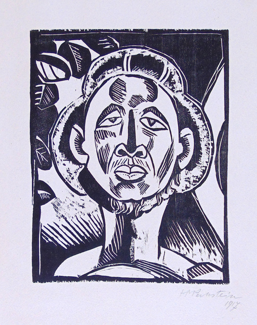 , 'Klouruback, from: Heads | Klouruback, aus: Köpfe,' 1917, Gilden's Art Gallery