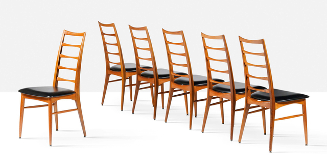 Niels Kofoed, 'Set of 6 dining chairs', Circa 1960, Aguttes