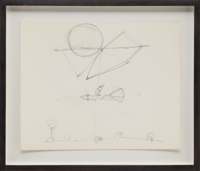 , 'Sky Hook (study for a balloon building),' 1978, Galerie Thomas Schulte