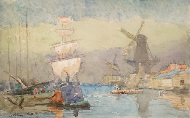 , 'Rotterdam,' 1897, R. S. Johnson Fine Art