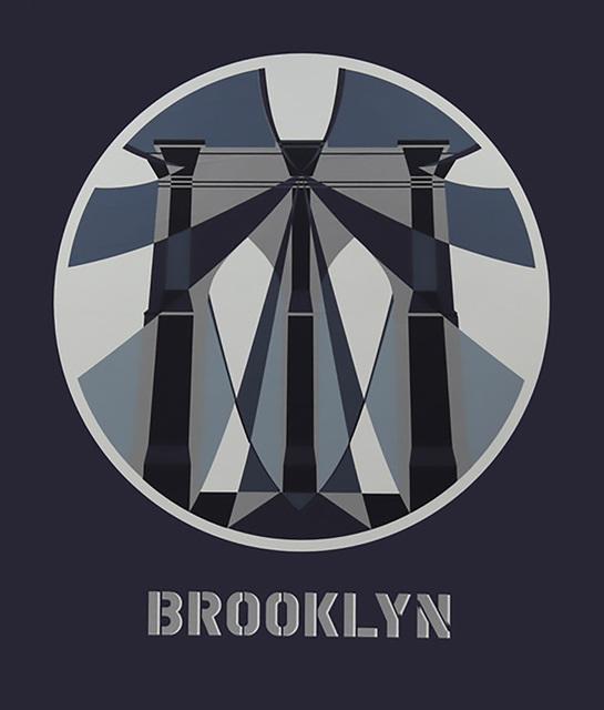 , 'Brooklyn Bridge,' 2017, Contini Art UK