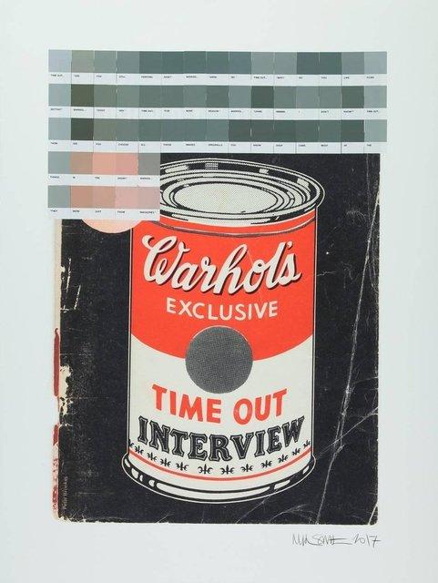 ", '""Timeout Warhol"",' 2017, Krause Gallery"