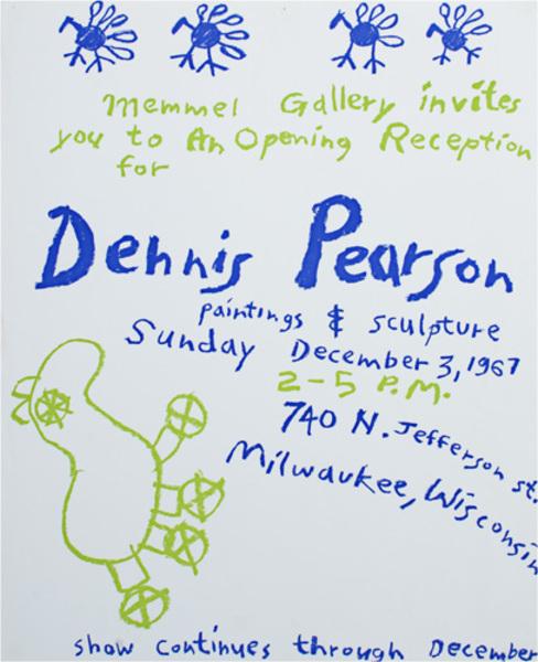, 'Exhibition Poster, December 3, 1967,' 1967, David Barnett Gallery