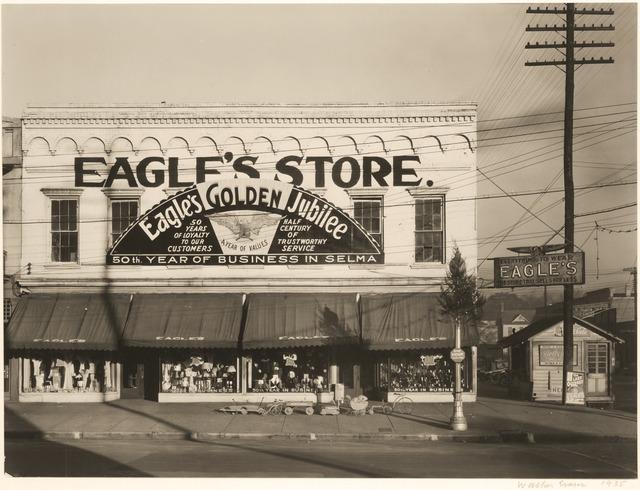 , 'Eagle's Store, Selma, Alabama,' 1935, Robert Klein Gallery