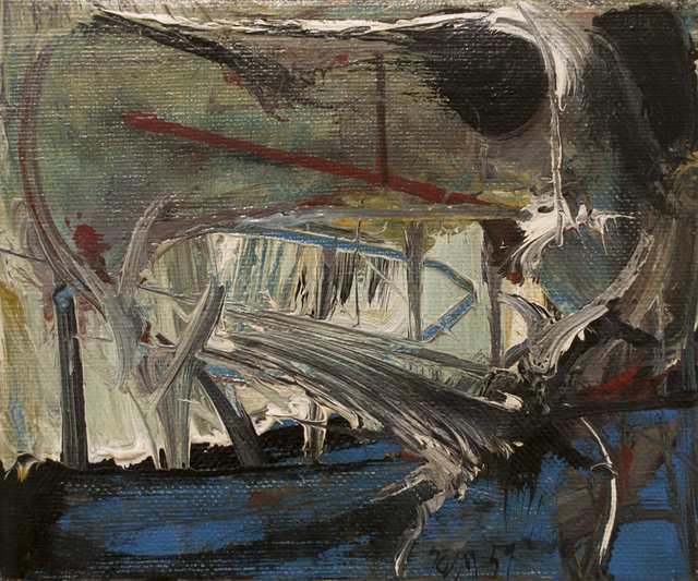 , 'Hommage to Turner,' 1959, Canadian Fine Arts