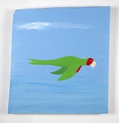 , 'Parrot painting #5,' 2016, Mitchell-Innes & Nash