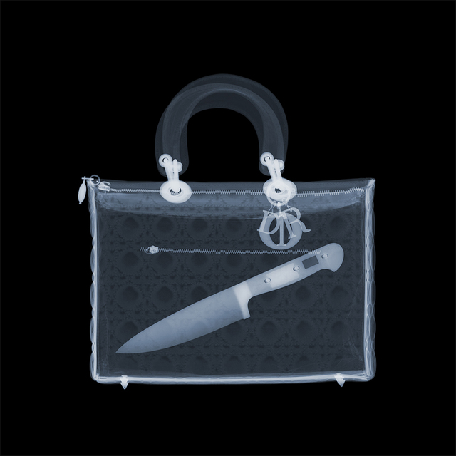 Nick Veasey, 'Dagger in my Dior', 2020, Photography, Diasec, ZK Gallery