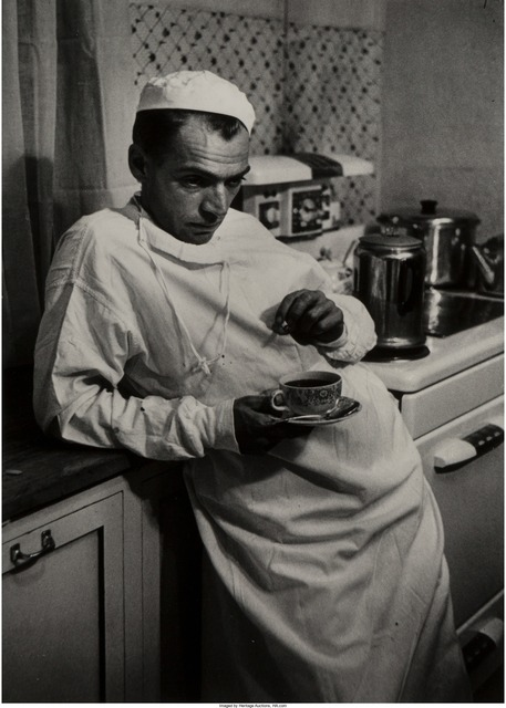 W. Eugene Smith, 'Weary Doctor with Coffee Cup', Heritage Auctions