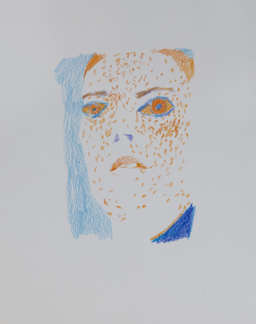 Aukse Miliukaite, 'Freckled', 2015, Drawing, Collage or other Work on Paper, Coloured Pencil, The Rooster Gallery
