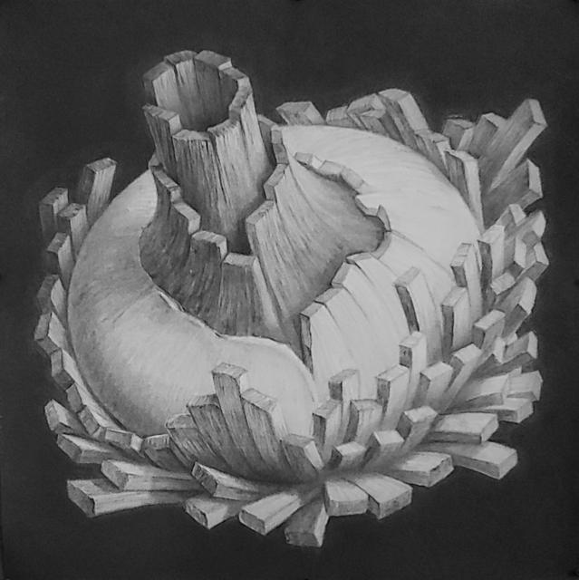 , 'Satellite B,' 2018, ArtHelix Gallery