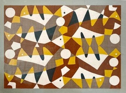 , 'Project for mural in the garden of the house of Mr. Piccioto, Guatemala,' 1958, Pablo Goebel Fine Arts