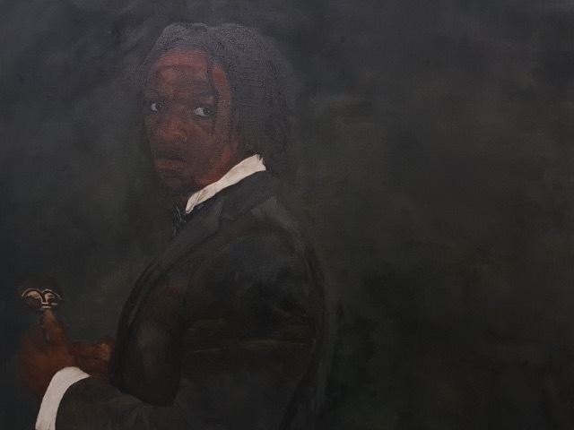 , 'The African in Me,' , Mall Galleries