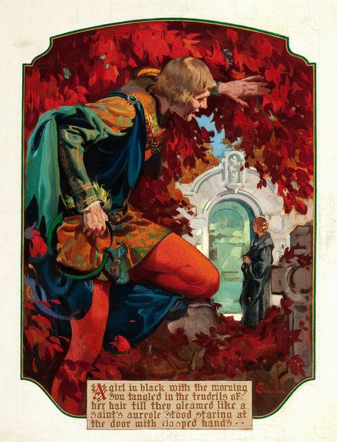 Elbert McGran Jackson, 'Romance Illustration', 1940-1949, The Illustrated Gallery