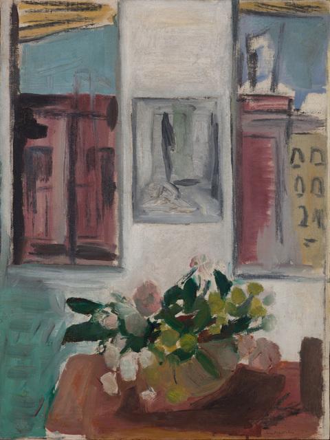 , 'Interior with Flowers,' 1952, Paul Kasmin Gallery