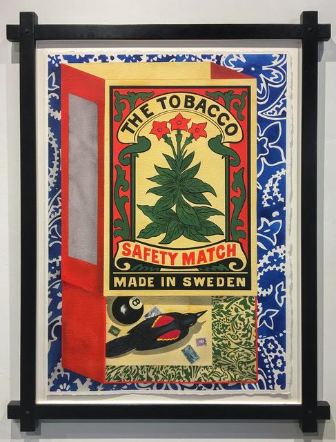 David Wharton, 'Matchbox: The Tobacco Safety Match', 2008, Heather James Fine Art