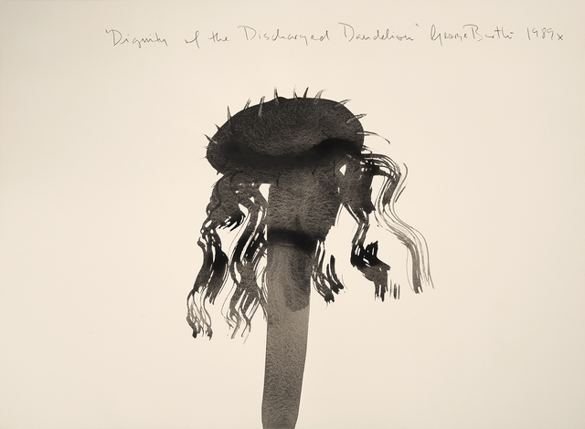 , 'Dignity of the Discharged Dandelion,' 1989, Imlay Gallery