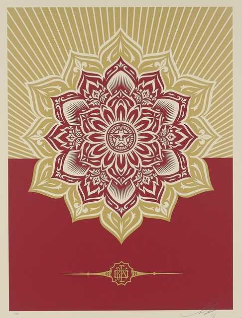 Shepard Fairey, 'Obey Mandala Holiday Ornament', 2012, DIGARD AUCTION