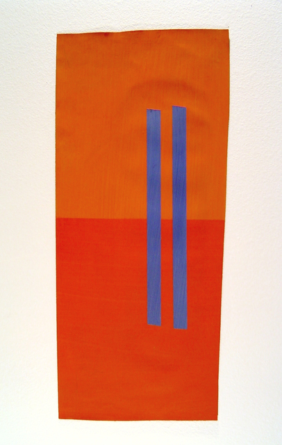 , 'Visual Logic Study (blue/orange),' 2001-2003, Estrada Fine Art