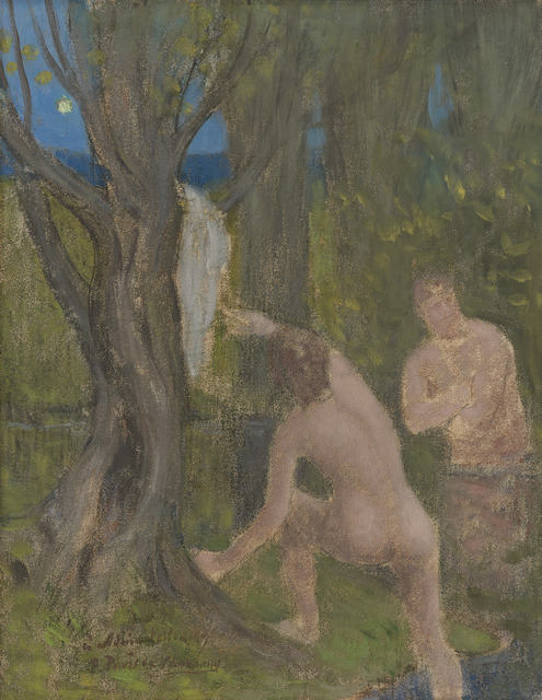 """, '""""Baigneurs dans un sous-bois (Bathers in Undergrowth)"""",' , Michael Werner Gallery"""