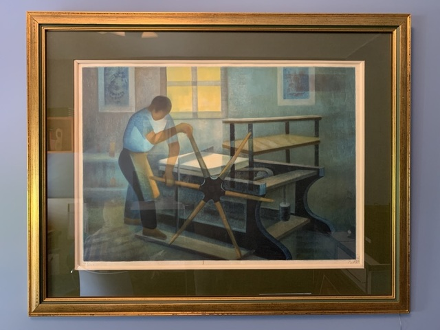 Louis Toffoli, 'Le Lithographe', 1970-1979, art&emotion Fine Art Gallery