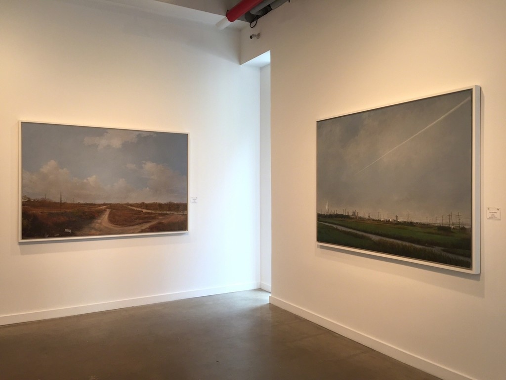 "Jose Anico ""Lifeless Land"" (left) and ""Near The Forbidden Zone"" (right)"