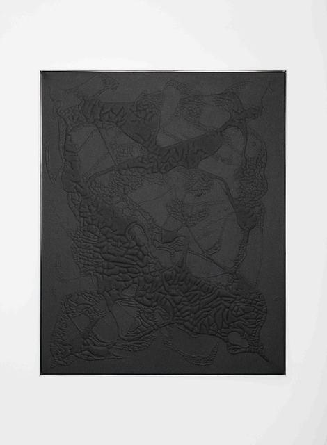 , 'Black #3,' 2016, Rolando Anselmi