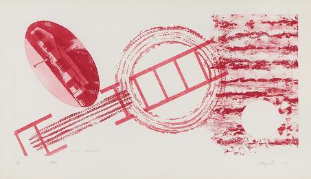 James Rosenquist, 'Cliff Hanger,' 1978, Heather James Fine Art: Curator's Choice