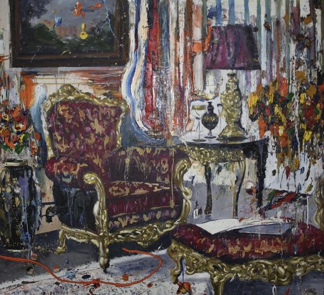 , 'Interior After Party II,' 2018, NUNU FINE ART