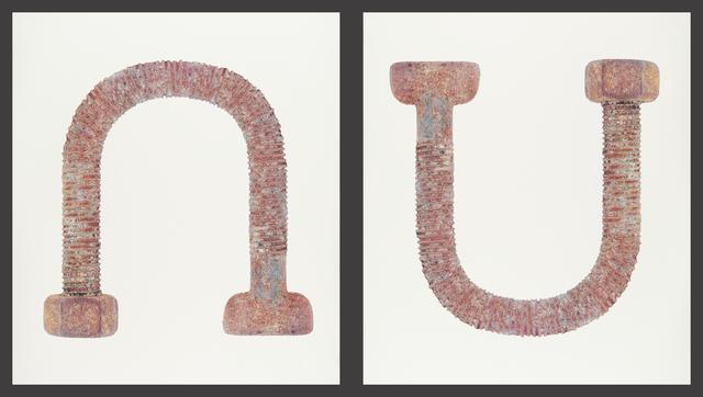 Laine Groeneweg, 'Rise & Fall (diptych)', 2020, Print, Silkscreen on Somerset Satin paper (diptych), CMS Art Projects