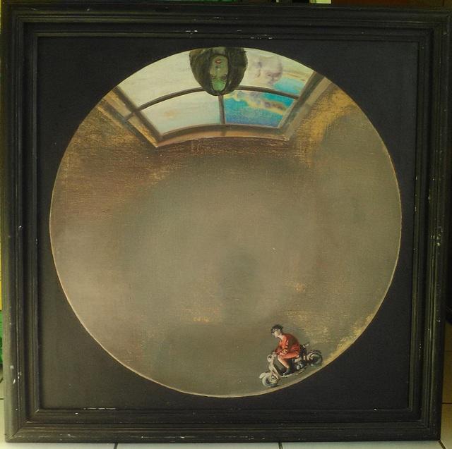 , 'Motorcycle Rider (Interior Landscape),' , Robert Kananaj Gallery