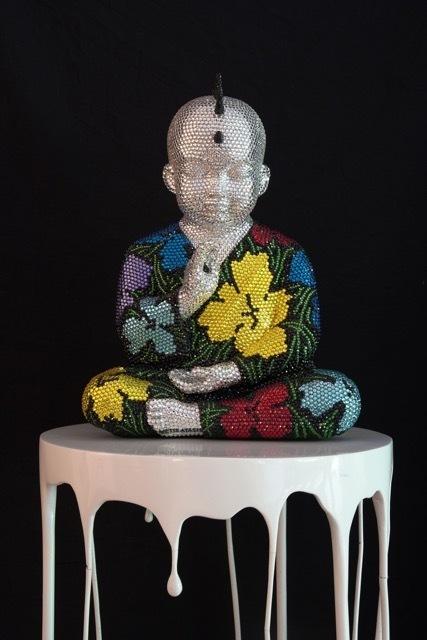 , 'Punk Buddha Awaken feat. Warhol,' ca. 2017, Samuel Lynne Galleries