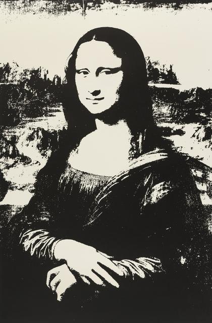 Andy Warhol, 'Mona Lisa (Black) (Sunday B. Morning)', 2019, Forum Auctions