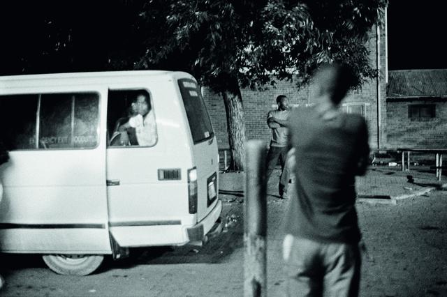 , 'Mhla ngivakashe eGoli,' 2008, blank projects