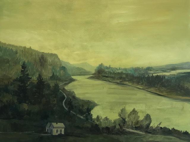 , 'Green Landscape,' 2019, Modern West