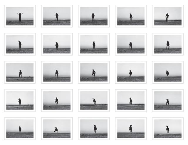 , '25 Versuche über den Horizont zu springen,' 1975, Maus Contemporary