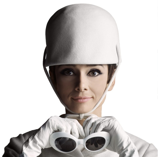 , 'Audrey Hepburn - Glasses and Hat,' , Mouche Gallery