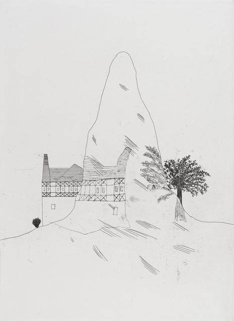 David Hockney, 'The Glass Mountain', 1969, Marlborough Graphics
