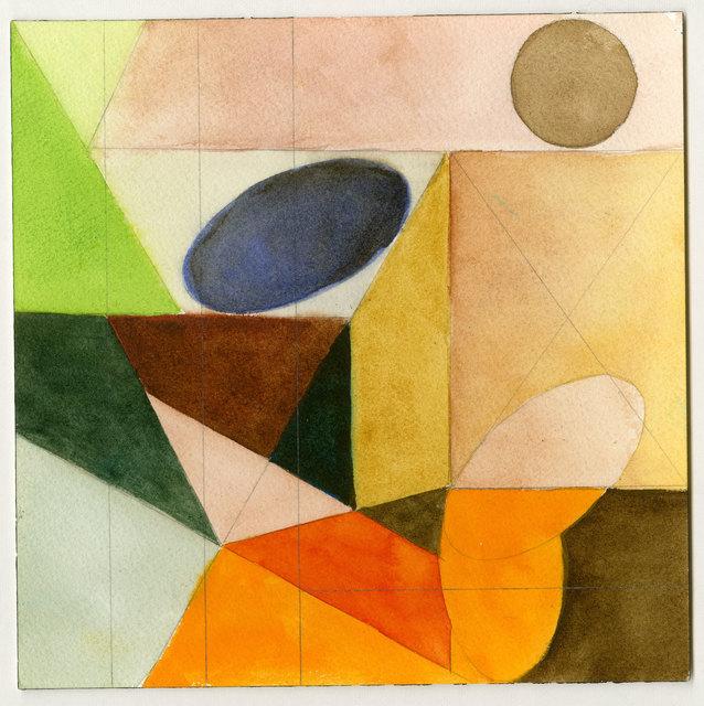 , 'Oval Color Study,' 2011, InLiquid