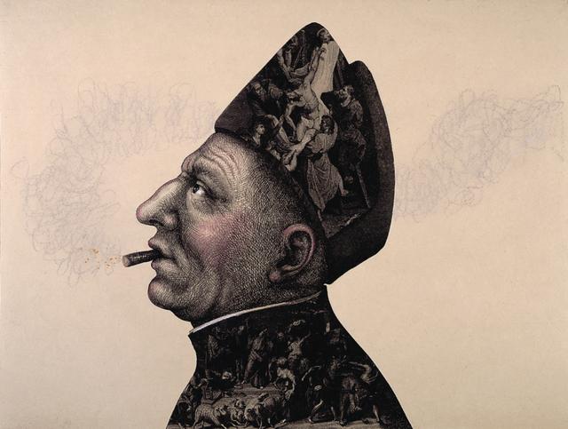 , 'Smoker,' , Ruiz-Healy Art