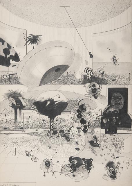 , 'Ogrod rodziny Burmaow,' 1973, Monopol