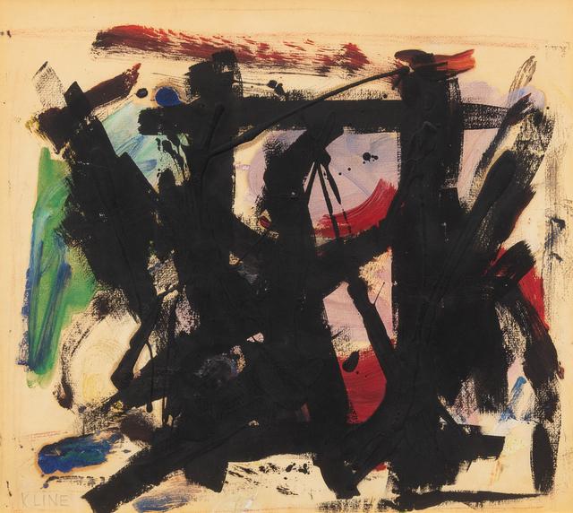 Franz Kline, 'Untitled', 1957, Hindman