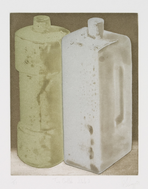 , 'Two Bottles, State 2,' 1988, Zane Bennett Contemporary Art