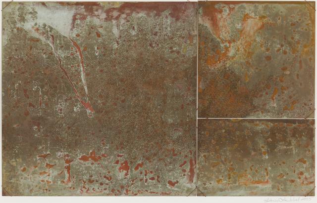 Karen Lee Sobol, 'Sea Change, Flowing', 2005, Print, Copper Relief, Childs Gallery